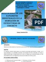 Ponencia Jifi 2014 - Aplicaciones de Explosivos en Demoliciones