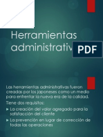 Herramientas Administrativas Clase