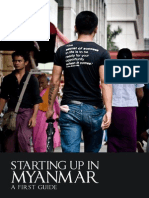 Starting Up in Myanmar - A First Guide