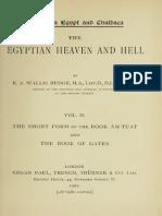 Egyptian Heaven and Hell Volume II