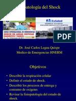 Revision de la Fisiopatologia del Shock