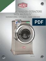 milnor washer