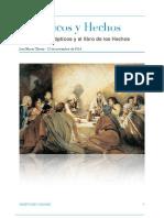 Sinópticos y Hechos de los Apóstoles