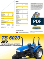 New Holland Ts 6020 2wd
