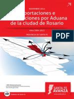 Exp e Imp Por Aduana Rosario