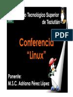 Platica Linux Nivel Bachillerato