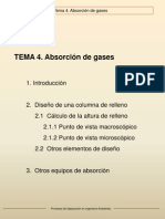 absorcion de gases