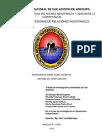 """Monografista """"Informe de Investigación"""""""