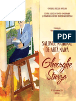 Salonul de Arta Naiva Gheorghe Sturza - Catalog