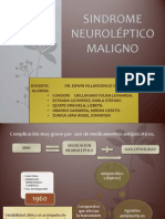 Trastorno Neuroleptico Maligno