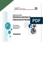 Pnf en Ingeniería Mecanica