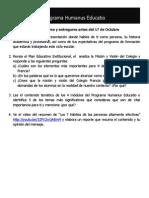 Sesión 1 de Humanus Educatio (Francia)