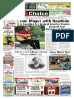 Weekly Choice - October 09, 2-14