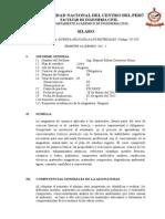 Silabus QUIMICA Competencias 2011-I