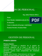 Gestion Personal 2007