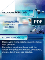 Ekologi Populasi