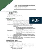UT Dallas Syllabus for mis6308.501.07f taught by Srinivasan Raghunathan (sraghu)