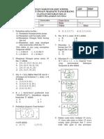 Uas Matematika Kelas 7 Fix 2014-2015