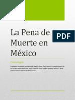 La Pena de Muerte en México