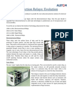 Evolution of Protection Relays From Alstom