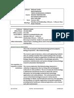 UT Dallas Syllabus for biol5v00.06m.07u taught by Mehmet Candas (candas)
