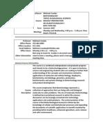 UT Dallas Syllabus for biol5v00.06a.07u taught by Mehmet Candas (candas)