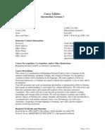 UT Dallas Syllabus for lang2311.001.07f taught by Cindy Renker (ckr051000)