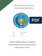 Sejarah Perkembangan Pemerintahan Desa Di Indonesia