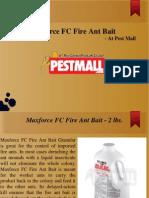 Maxforce FC Fire Ant Bait