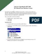 Upgrading HST 3000 Broadcom Modem