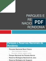 Parques e Reservas Nacionais de RONDÔNIA