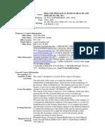 UT Dallas Syllabus for biol3350.501.07f taught by Ilya Sapozhnikov (isapoz)