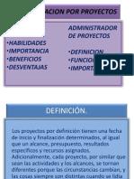 Administracion Por Proyectos