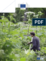 LIFE and invasive alien species