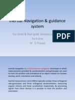 Inertial Navigation System Pt1