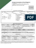 PAP Membership.doc