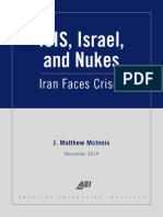 ISIS, Israel, And Nukes - Iran Faces Crises_J. Matthew McInnis_Final 2014-11
