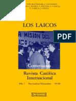 Communio 85 6 - Los Laicos