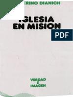 Dianich, Severino - Iglesia en Mision