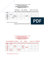 Individual Time Tables - 2014-15-44 B.tech