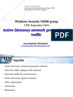 Active Directory Network Protocols and Traffic