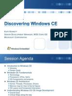 Discovering Windows CE