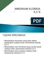 Infus Ammonium Klorida 0,5 %