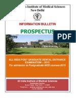 Prospectus AIPGDEE 2015