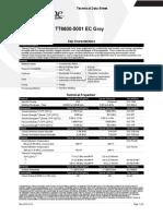 Datasheet PA66 TT6600-5001 EC Grey