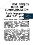 PTV inaugurated