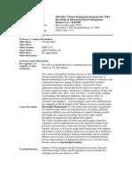 UT Dallas Syllabus for mis6204.pi1.07f taught by Hans-joachim Adler (hxa026000)