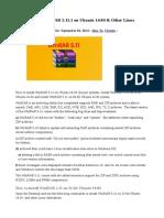 How to Install WinRAR 5.11.1 on Ubuntu 14.04