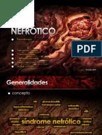 Sindrome Nefrótico y Nefrítico