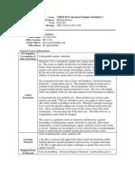 UT Dallas Syllabus for chem5331.501.07f taught by Michael Biewer (biewerm)